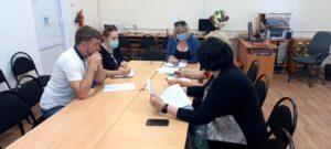 Выездной семинар ЦНТ в Черноморском районе