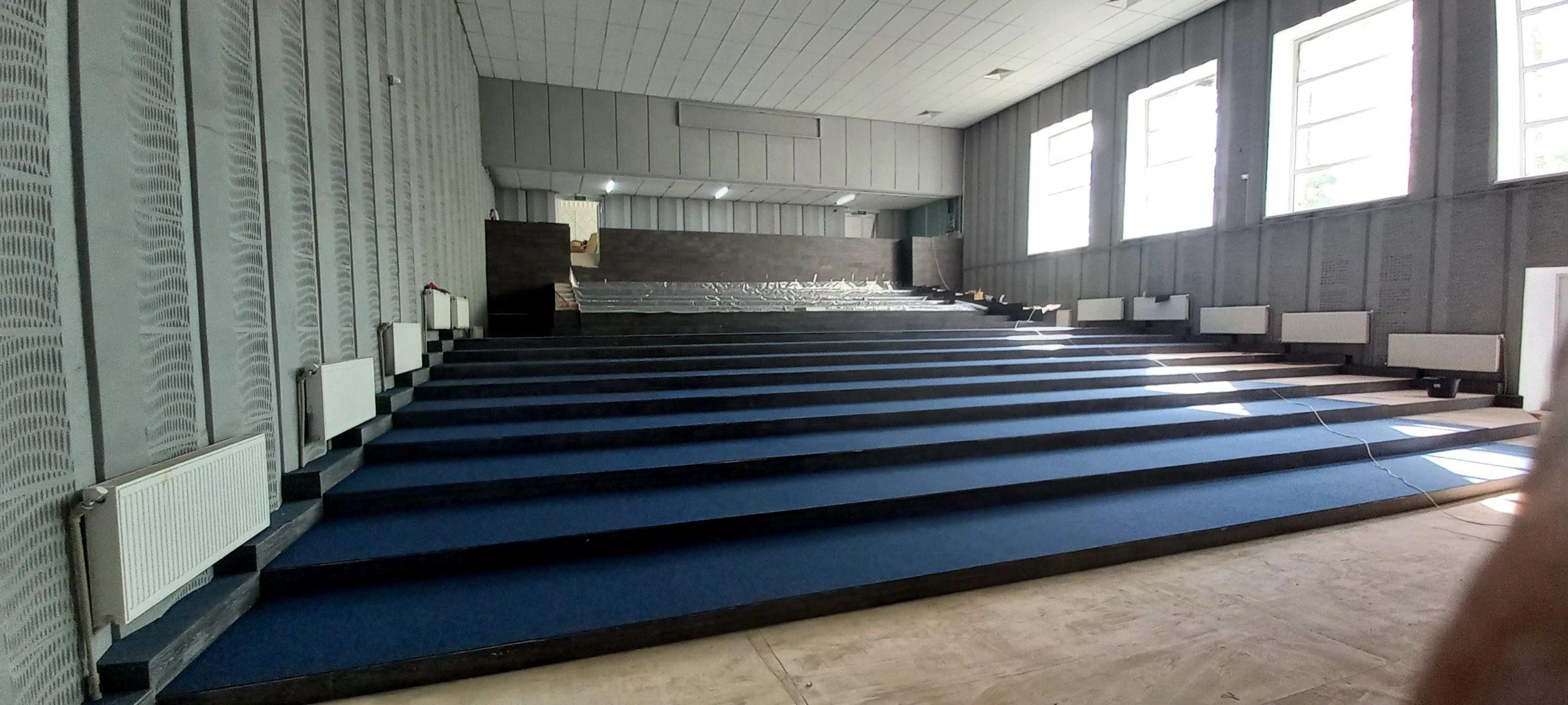 Зрительный зал Черноморского РДК