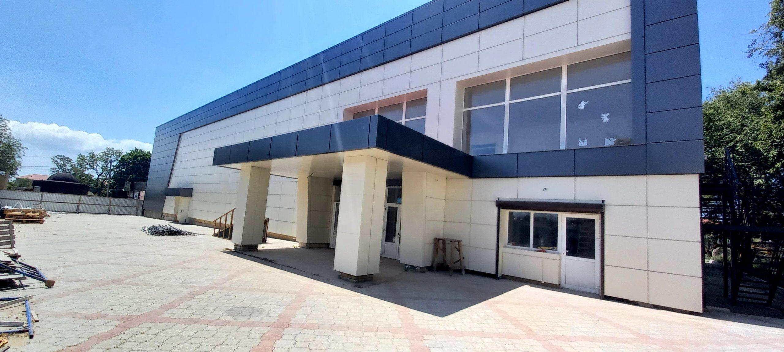 Фасад Межводненского СДК